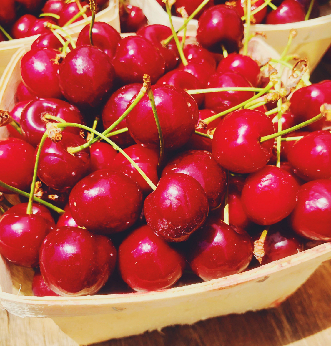 Fresh, Seasonal Cherries 🍒