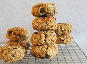 oatmeal raisin cookies5